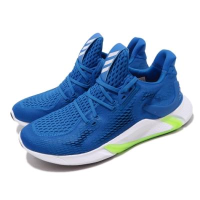 adidas 慢跑鞋 Edge XT Summer 男鞋 愛迪達 路跑 襪套式 緩震 球鞋穿搭 藍 白 EH3380