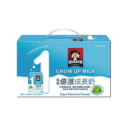 桂格 優護成長奶(220mlx12罐)x6盒