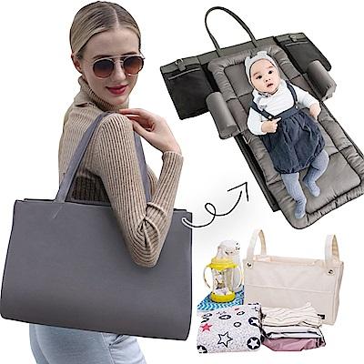 JoyNa便攜嬰兒床收納袋手提單肩包
