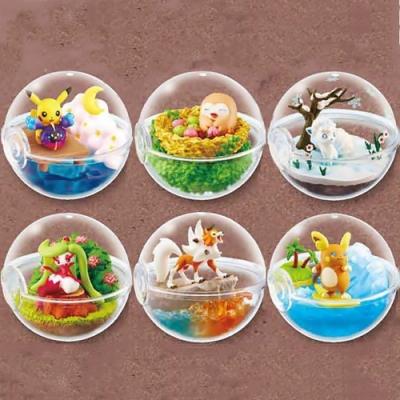 日本RE-MENT盒玩(全6種)精靈寶可夢盆景-阿羅拉地方編(食玩)2204635C