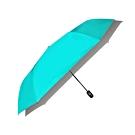 【台灣嚴選】綠色RA56004GN極度遮光奈米黑膠防風三折自動晴雨傘(傘面外徑117CM)