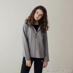 【VVIP】GIORDANO 女裝高機能刺繡連帽外套(4色任選)