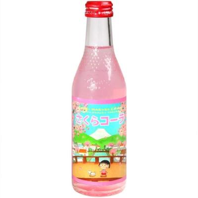 木村飲料 小丸子可樂汽水-櫻花風味(240g)