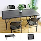 Amos-180*76手提折疊式木紋戶外餐桌/會議桌 product thumbnail 1