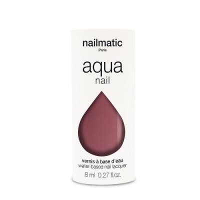 法國 Nailmatic 水系列經典指甲油 - Rosemay 紅木色 - 8ml