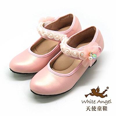 天使童鞋 舞會精靈公主高跟鞋 J894-08 粉