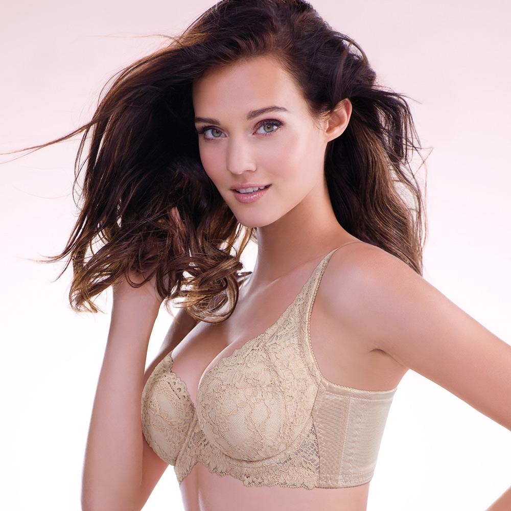 黛安芬-蝴蝶逆齡bra大女人系列 E-G罩杯內衣 經典膚