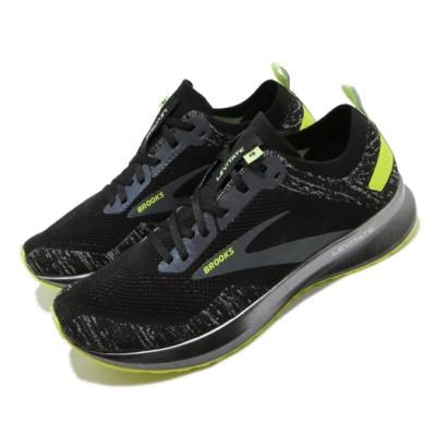 Brooks 慢跑鞋 Levitate 4 Run 運動 男鞋 路跑 緩震 DNA科技 透氣 健身 球鞋 黑 黃 1103451D013