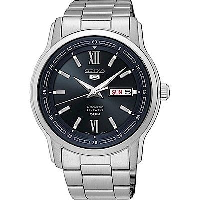 SEIKO精工/簡約5號羅馬造型機械腕錶/7S26-04T0D/SNKP17J1