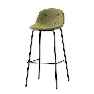 Bernice-希伯來時尚吧台椅/高腳椅(兩色可選)-二入-43x44x94cm