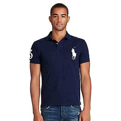 Ralph Lauren 短袖 POLO 素面 藍色  1038