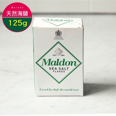 英國馬爾頓 天然海鹽 MALDON SEA SALT 125G-速