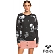 【ROXY】NIGHT IS YOUNG T恤 黑色 product thumbnail 1