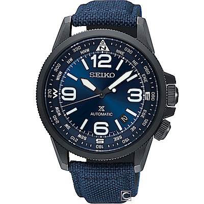 SEIKO 精工 PROSPEX 空全方位飛行機械錶(SRPC31J1)藍/42mm