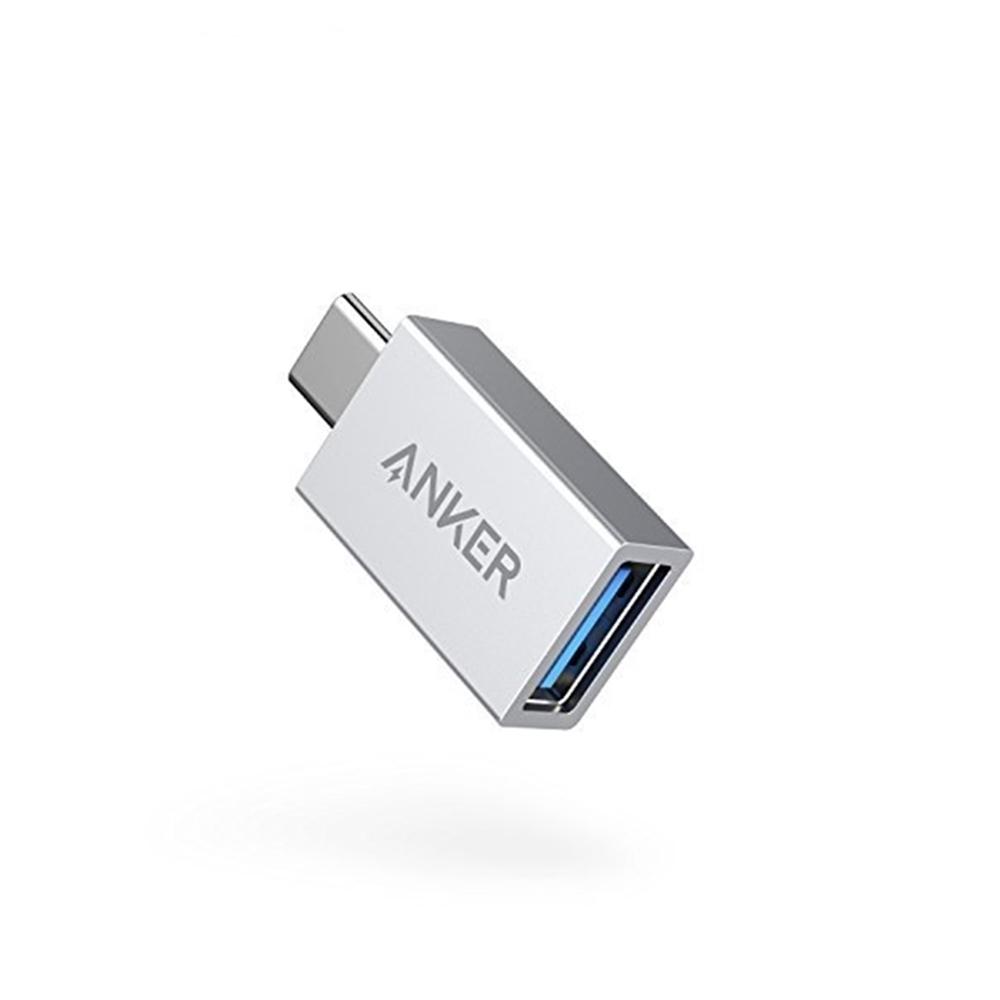 美國Anker電腦OTG手機Type-C轉USB轉接頭 USB-C轉USB-A轉接器A81750A1亦適Apple蘋果macbook
