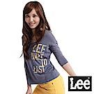 Lee 七分長袖U領T恤