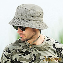 JUNIPER 超大頭圍尺寸全棉抗UV紫外線防潑水叢林漁夫遮陽親子帽