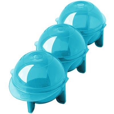 《FOXRUN》Tulz 3格冰球製冰盒(藍)