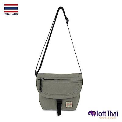 Loft THAI | 泰.隨身帆布郵差包(小) | Grey