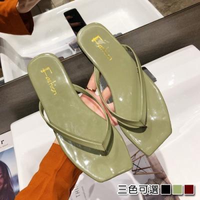 KEITH-WILL時尚鞋館激推百搭輕量方頭拖鞋