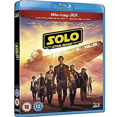 星際大戰外傳:韓索羅 3D+2D+Bonus 藍光限定3碟版  藍光 BD