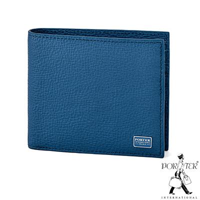PORTER - 自信魅力REGAL多夾層橫式皮夾 - 藍