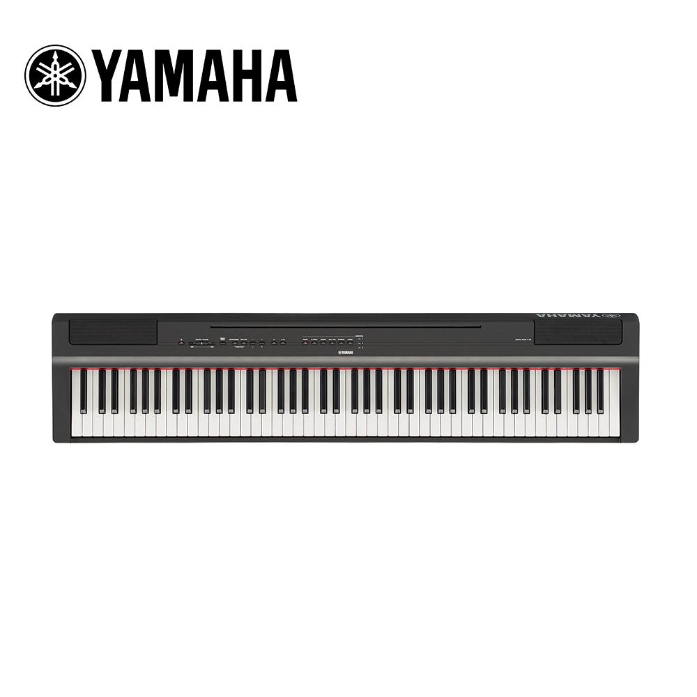 [無卡分期-12期] YAMAHA P125B BK 88鍵數位電鋼琴不含琴架組 黑色款