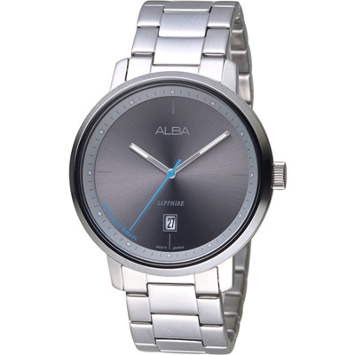 ALBA 極簡色系時尚腕錶(AS9F79X1)43mm