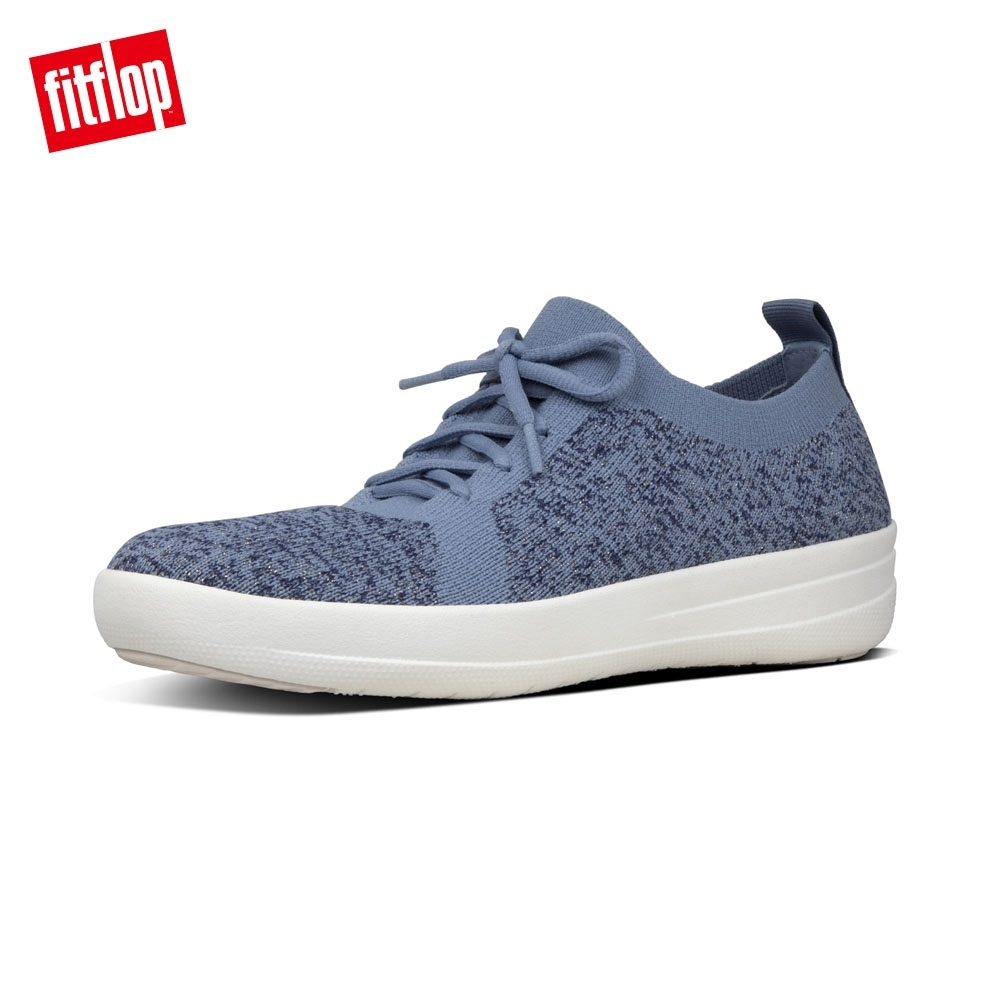FitFlop F-SPORTY UBERKNIT SNEAKERS 粉藍 product image 1