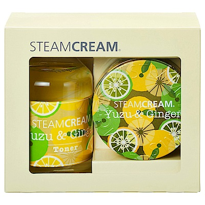 STEAMCREAM蒸汽乳霜 GS129-YUZU&GINGER-秋冬限定柚子&暖薑禮盒組