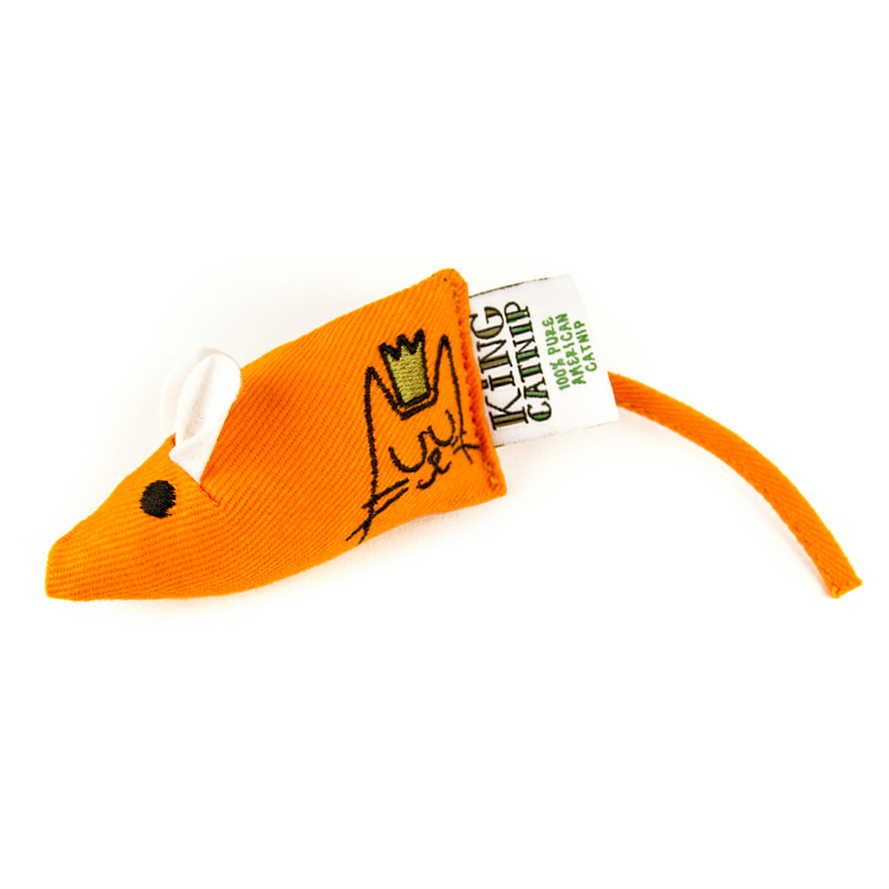 King Catnip北美天然有機貓草 貓草玩具 抓鼠不能說 8.5cm(不含尾巴)