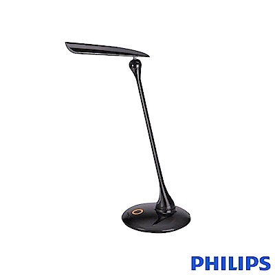 (福利品) 飛利浦 PHILIPS LIGHTING 穎光LED檯燈(黑) 30671