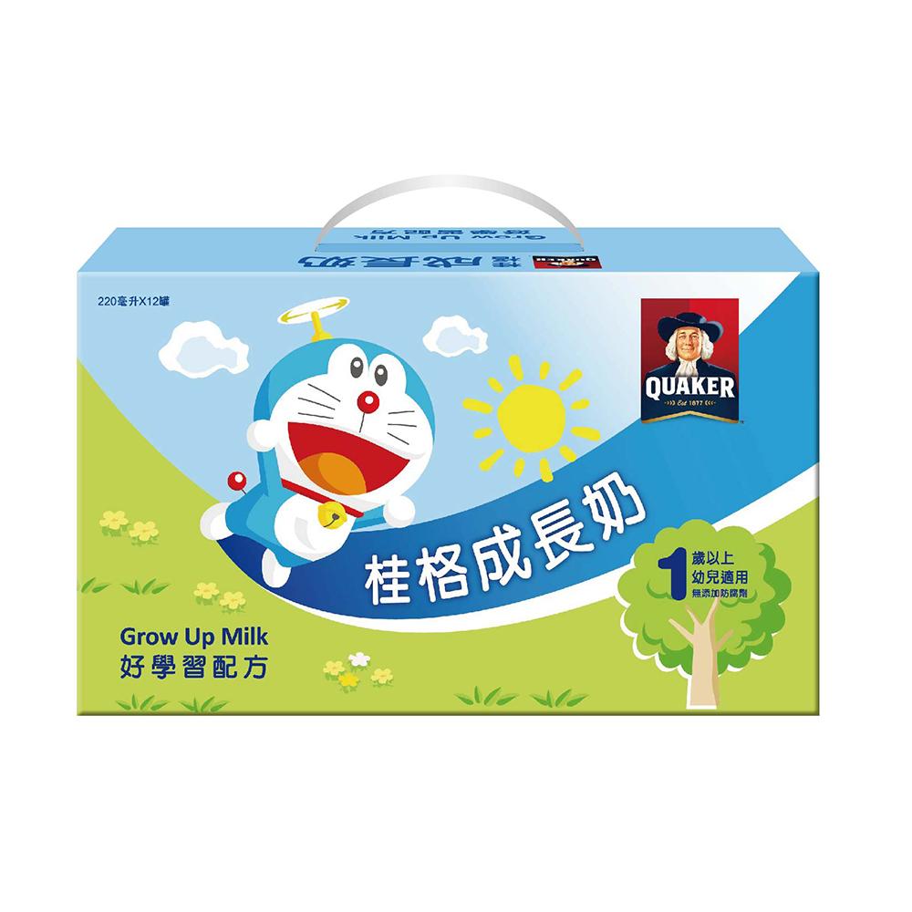 桂格 成長奶 好學習配方 (220mLx12罐) X 3盒