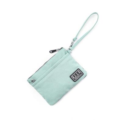ELLE Active 透視網布系列-口罩收納袋/零錢包-薄荷綠