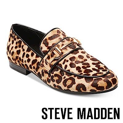 STEVE MADDEN-KERRY-L 金屬馬銜釦樂福鞋-豹紋