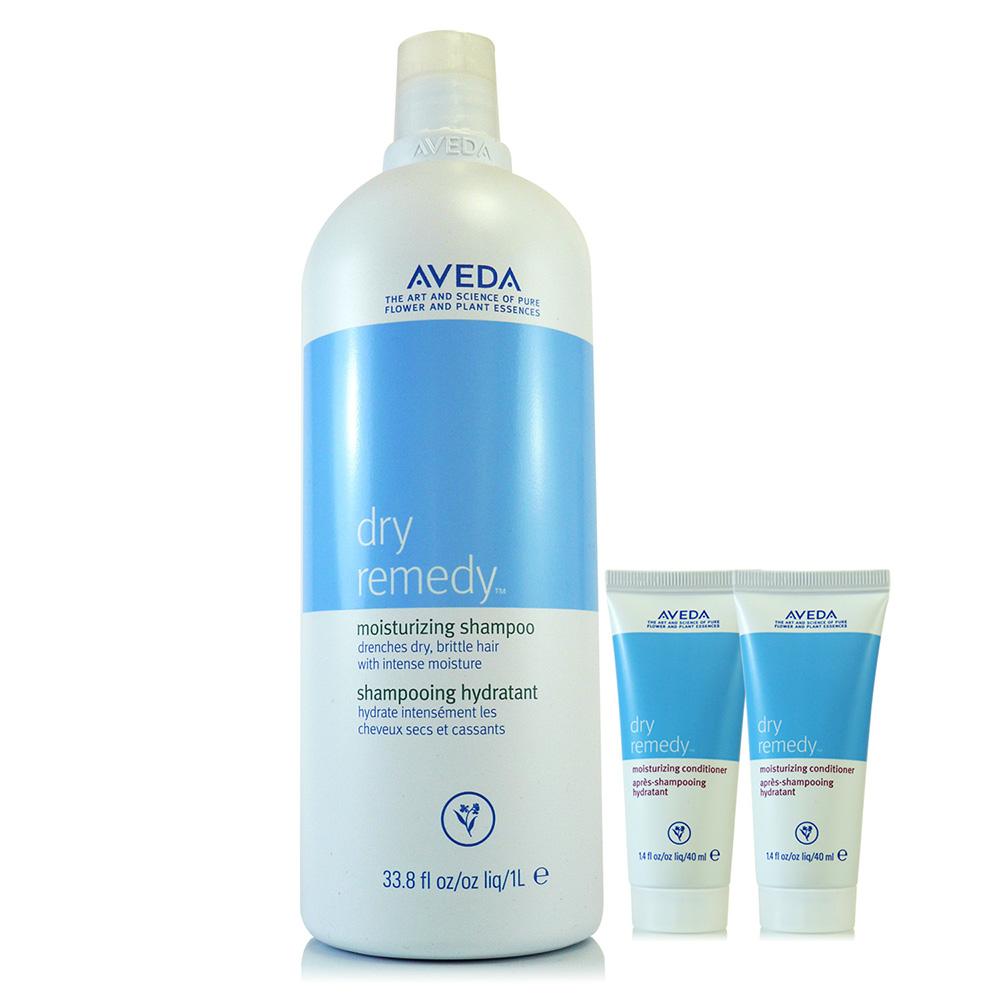 AVEDA 深層保濕洗髮精1000ml贈潤髮乳40ml*2