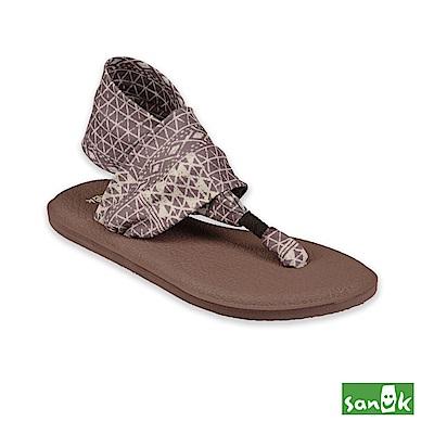 SANUK-YOGA SLING 2 菱形格紋瑜珈墊涼鞋-女款(藕色)