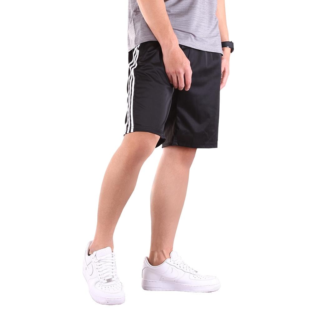 CS衣舖 戶外機能 吸濕排汗健康布 彈力 運動短褲 (雙線C款)