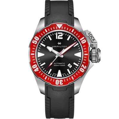 Hamilton KHAKI 海軍系列蛙人機械錶(H77725335)-42mm