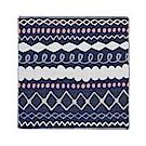 日本Prairiedog 今治三層紗方巾-編織條紋