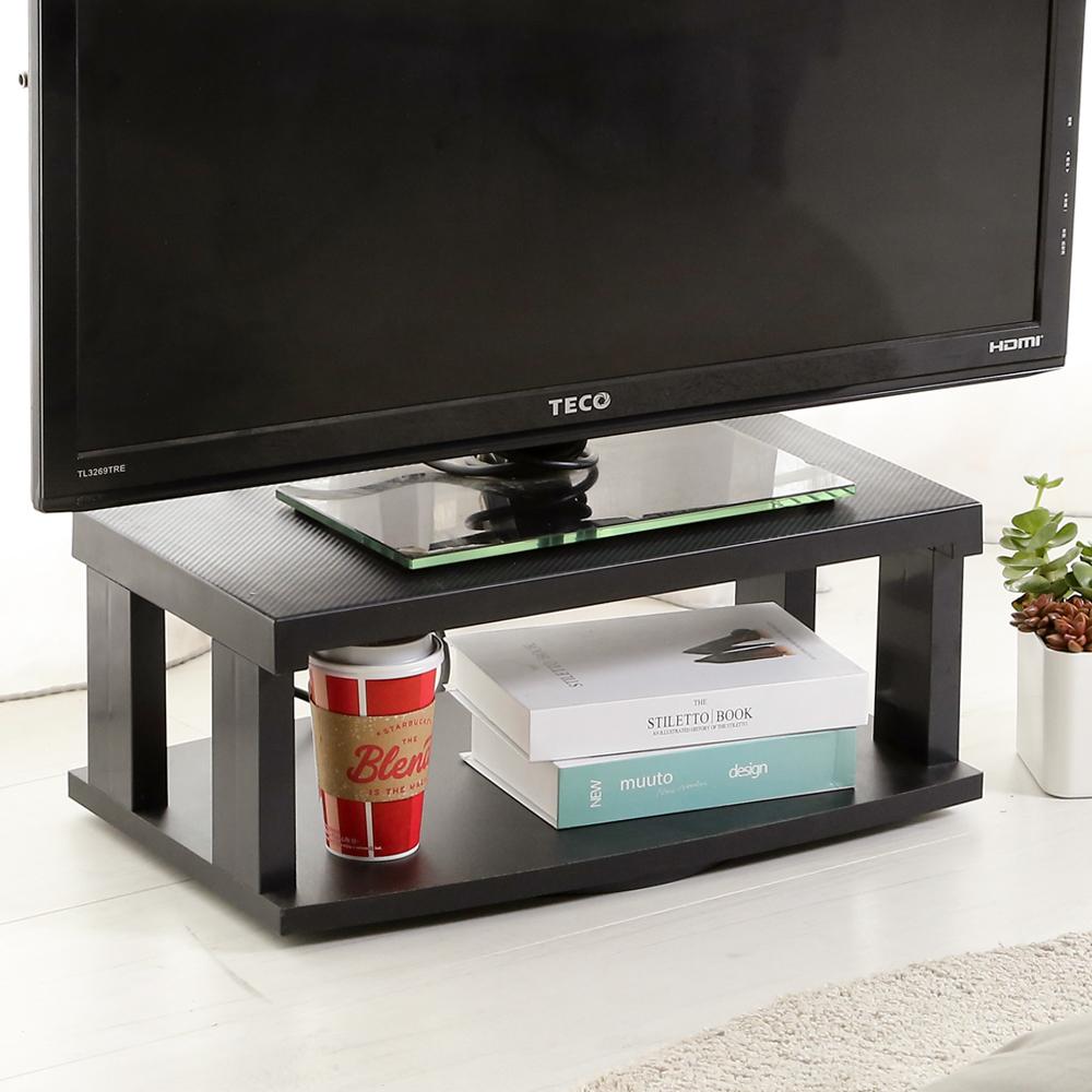 澄境 獨家輕巧開放式360度旋轉電視櫃-DIY