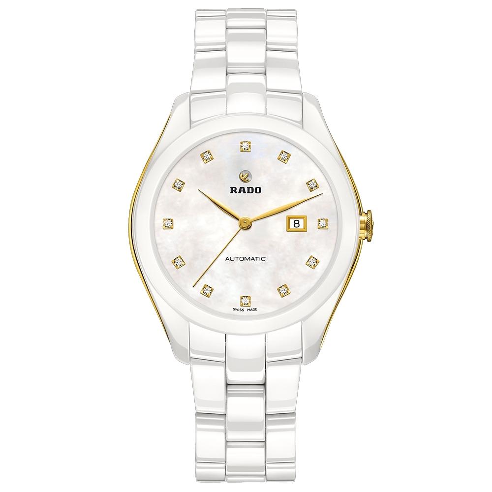 RADO 雷達 HyperChrome皓星 真鑽陶瓷機械錶(R32257902)-35mm