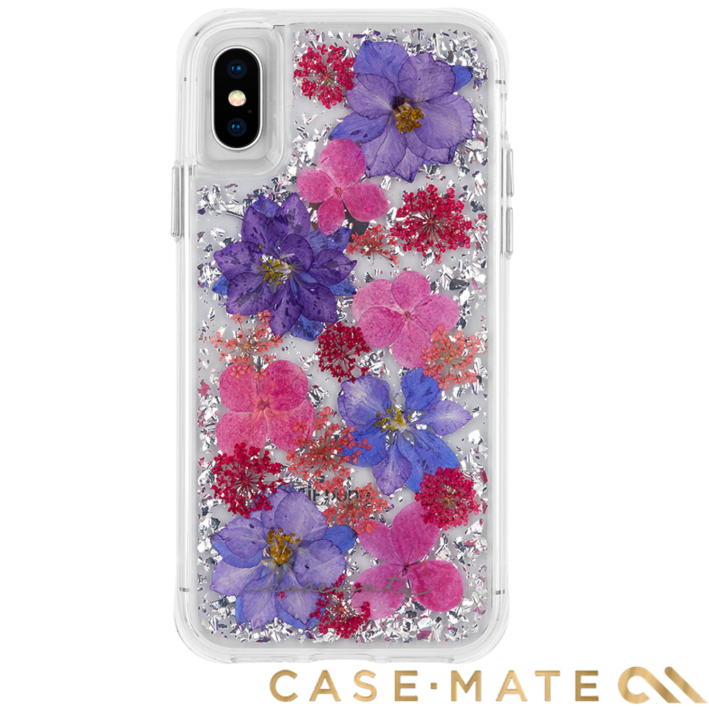 美國Case-Mate iPhoneXS /X Karat Petals防摔殼- 紫色