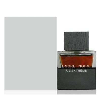 Lalique Encre Noire 卓越黑澤男性淡香精 100ml Tester 包裝