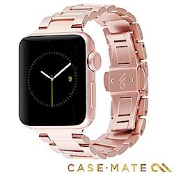 美國 Case-Mate Apple Watch 42/44mm 不鏽鋼錶帶 - 玫