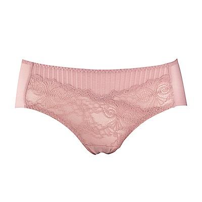 蕾黛絲-親膚好感挺素面搭配平口內褲 M-EL 珊瑚橘