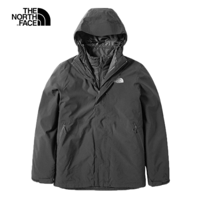 The North Face 男 防水透氣風衣 黑 NF0A3VSJKX7