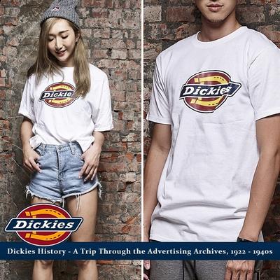 時時樂  DICKIES 滑板經典LOGO短T 美式短袖上衣 (2色可選)