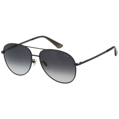 POLICE 飛官款 太陽眼鏡 (黑色)SPL777K