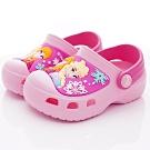 迪士尼童鞋 冰雪奇緣護趾涼鞋款 NI4023粉(中小童段)
